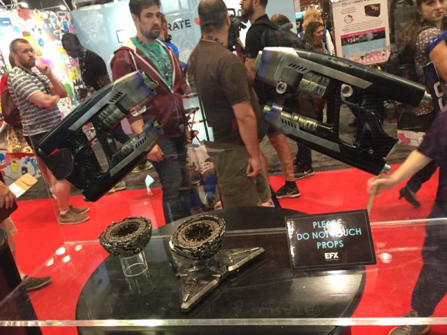 Star-Lord Blasters Prop Replicas The Orb NYCC 2016