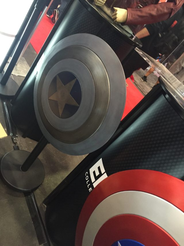 eFX Blue Captain America Shield NYCC 2016