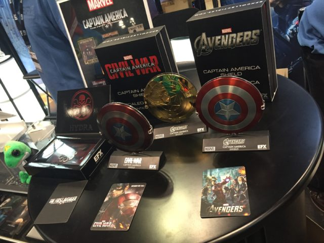 NYCC 2016 eFX 1:6 Captain America Shield Replicas