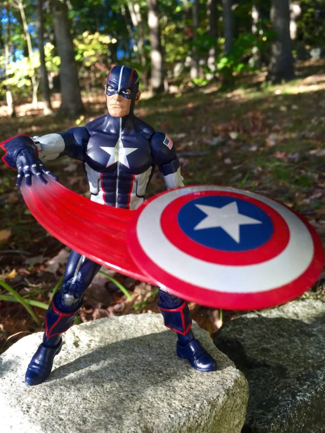 Hasbro Secret War Captain America Legends Figure Shield