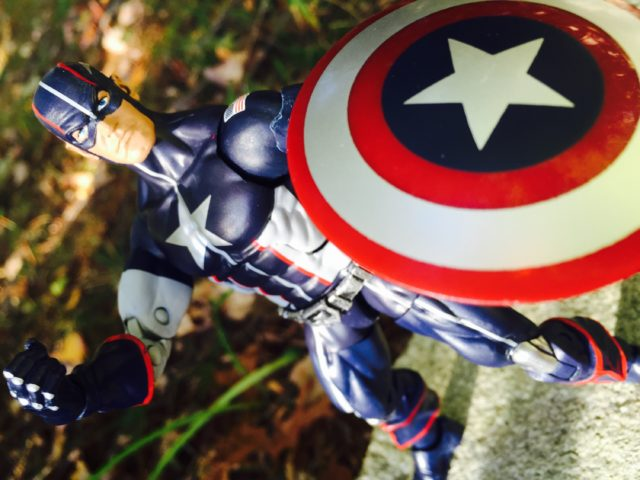 Marvel Legends Civil War Secret War Captain America Figure Review