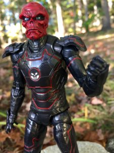 Red Skull Head on Iron Skull Marvel Legends Action Figure