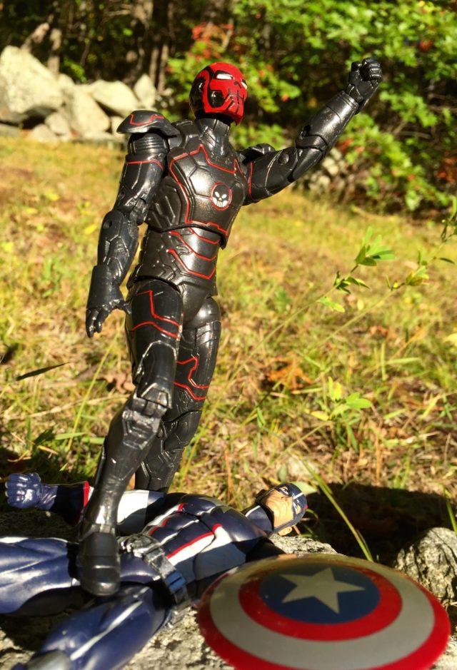 Marvel Legends Iron Skull Review Red Skull