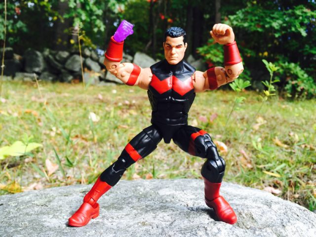 "Wonder Man 6"" Figure Hasbro Posing"