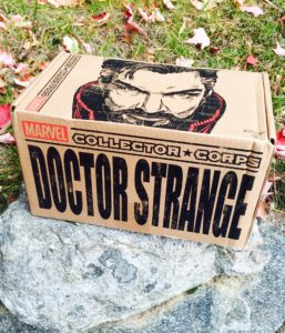 Marvel Collector Corps Doctor Strange Box Review Unboxing Spoilers