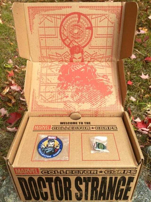 Unboxing Funko Doctor Strange Box