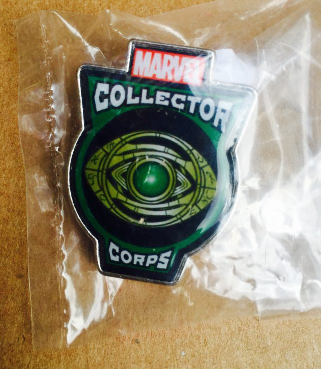 Eye of Agamotto Pin Funko Collector Corps