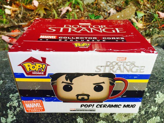 POP Doctor Strange Mug Box