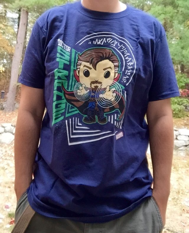 Marvel Collector Corps Doctor Strange Shirt Exclusive
