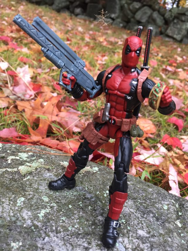 Marvel Legends 2016 Deadpool Six Inch Figure Review