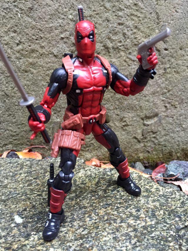 """6"""" Marvel Legends X-Men Deadpool Figure with Sword and Gun"""
