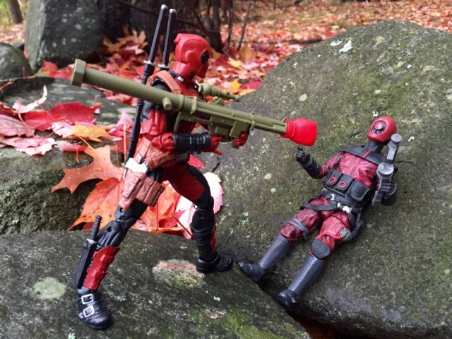 Deadpool Legends Boxing Glove Bazooka Gun