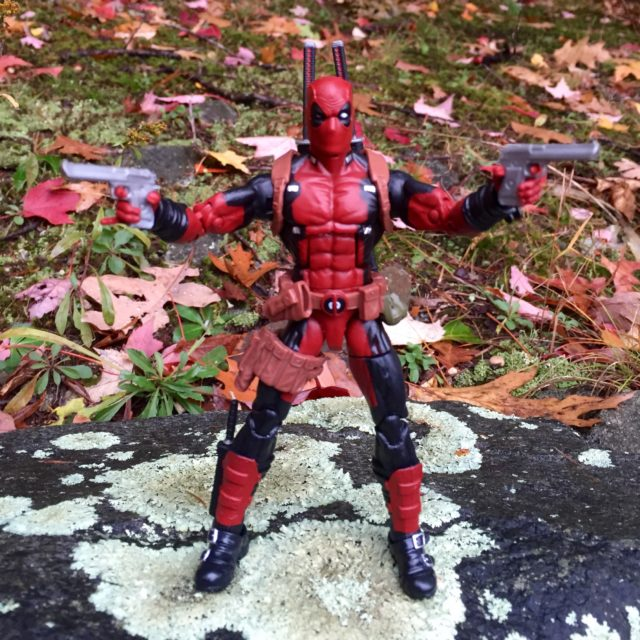 Deadpool 2016 Marvel Legends 6 Inch Figure Guns
