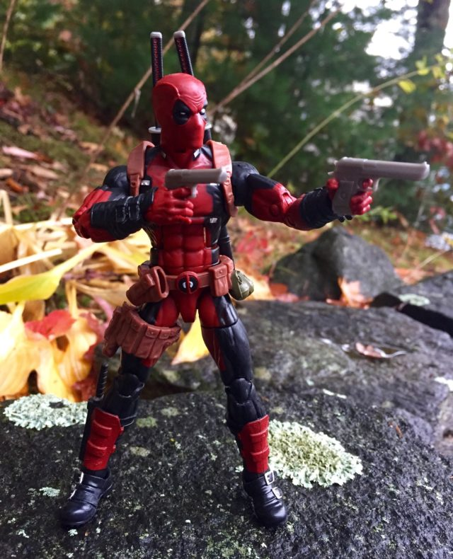 2016 Hasbro Marvel Legends Deadpool Dual-Wielding Pistols