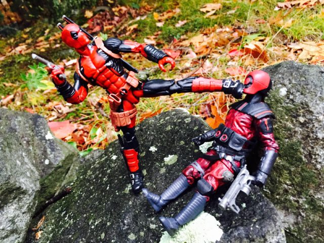 Marvel Legends Deadpool Leg Articulation Kicking Guavian Enforcer