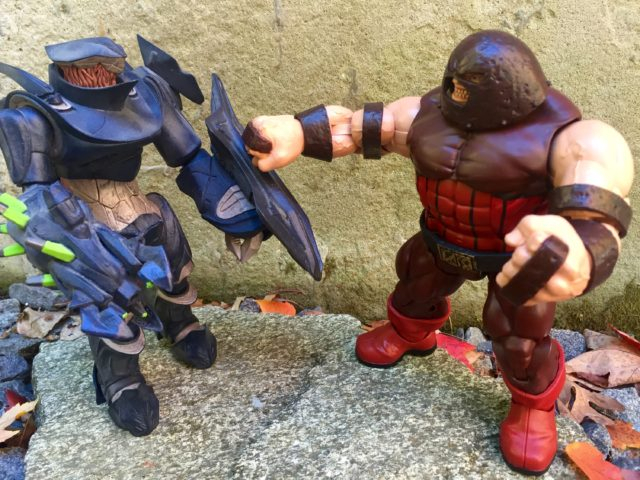 Juggernaut vs Covenant Hunter Marvel Legends Figure