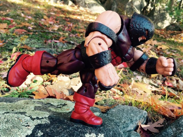 Marvel Legends Juggernaut Build A Figure Running on One Leg