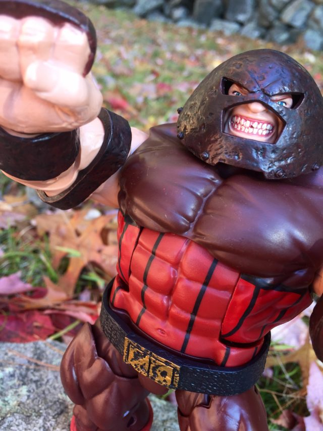 Close-Up of Marvel Legends X-Men Juggernaut
