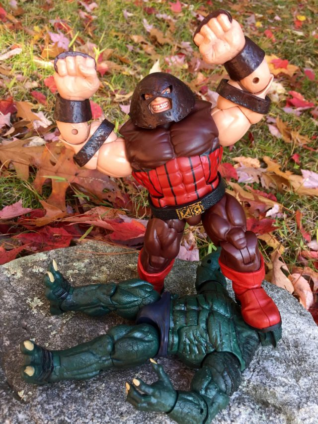 Marvel Legends Juggernaut Build-A-Figure Review