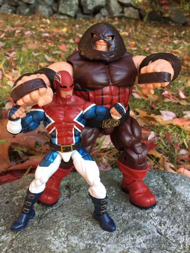Marvel Legends Excalibur Captain Britain & Juggernaut Figures