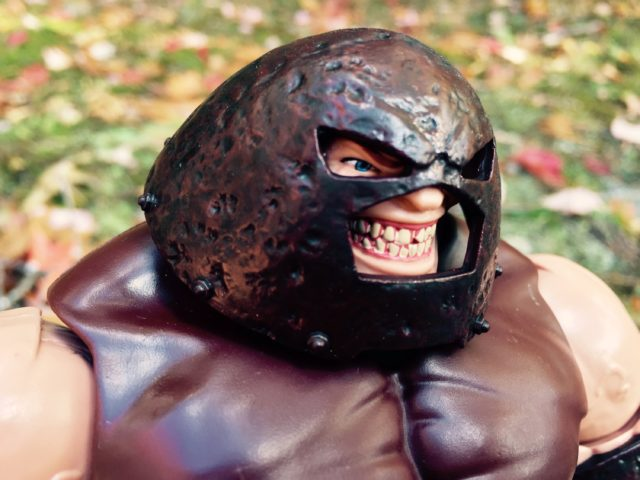 X-Men Legends Juggernaut Head Helmet Close-Up
