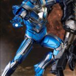 Exclusive Hot Toys Blue Steel Iron Man Figure Up for Order!