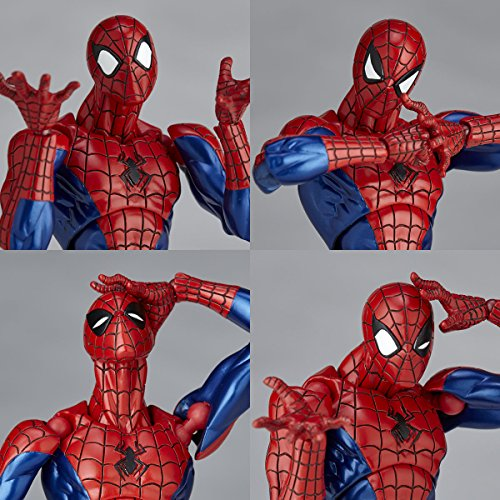 Revoltech Spider Man Hi Res Photos Amp Order Info Marvel