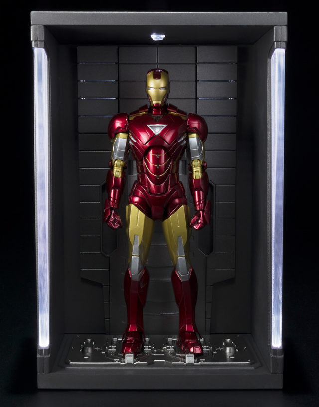 sh-figuarts-iron-man-3-hall-of-armor-pod-with-figure-in-it