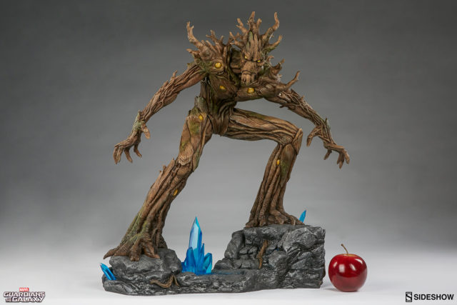 sideshow-collectibles-groot-pf-statue-size-comparison-scale-photo-with-apple