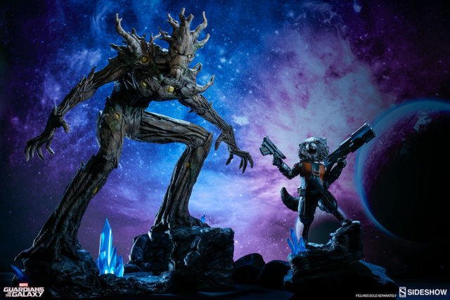 sideshow-collectibles-rocket-raccoon-groot-premium-format-figures