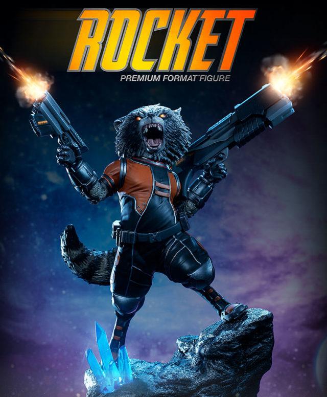 sideshow-premium-format-rocket-raccoon-statue