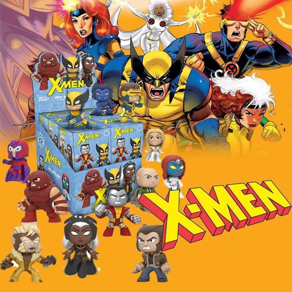 Funko Mystery Minis ~ 1X SINGLE BLIND BOX X-MEN MYSTERY VINYL FIGURE