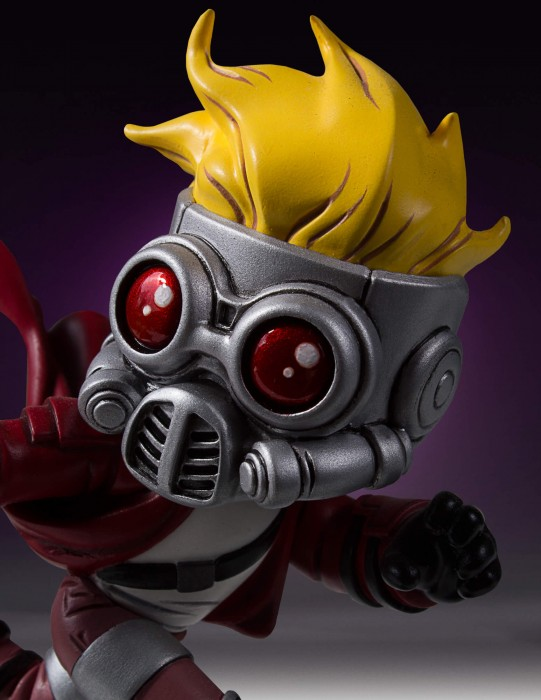 close-up-of-skottie-young-marvel-babies-star-lord-statue