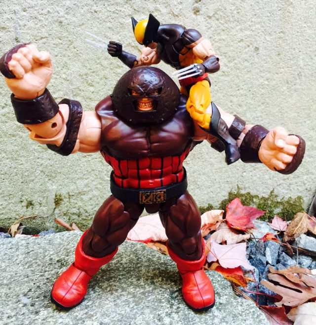 X-Men Legends Juggernaut versus Wolverine Action Figure