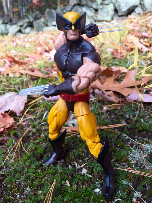 Hasbro Wolverine Legends Figure with Arm Articulation Behind Back