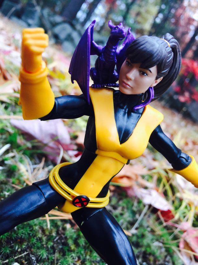 Marvel Legends 2016 Kitty Pryde and Lockheed Figures