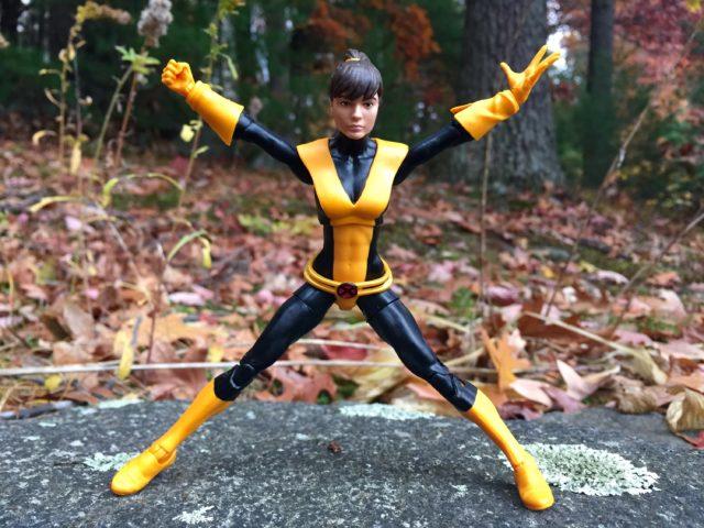 Marvel Legends Kitty Pryde Figure Range of Motion
