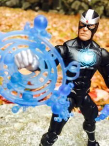 "Close-Up of X-Men Legends Havok 6"" Figure"