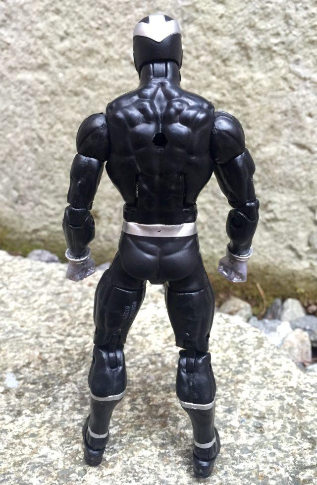 Back of Marvel Legends 2016 Havok Figure Hasbro