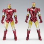 S.H. Figuarts Iron Man Mark VI Figure Comparison Photos!