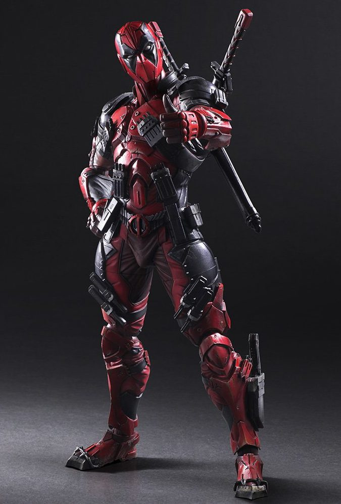 Play Arts Kai Deadpool Figure Official Photos Order Info on deadpool thumbs up