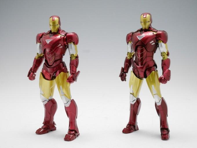 Figuarts Action Figure Bandai Tamashii IRON MAN Mark VI /& Hall of Armor Set S.H