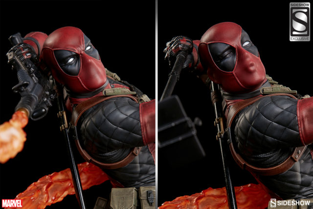 sideshow-exclusive-red-steel-deadpool-portrait-comparison-with-regular-head