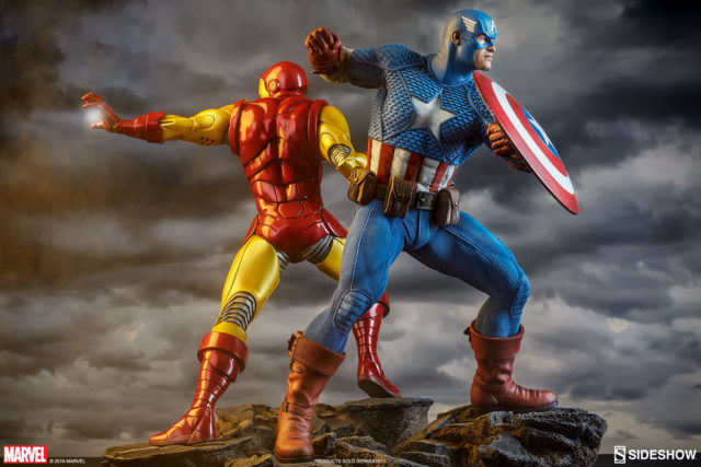 avengers-assemble-sideshow-collectibles-statues-captain-america-and-iron-man