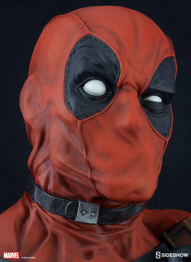 close-up-of-deadpool-life-size-bust