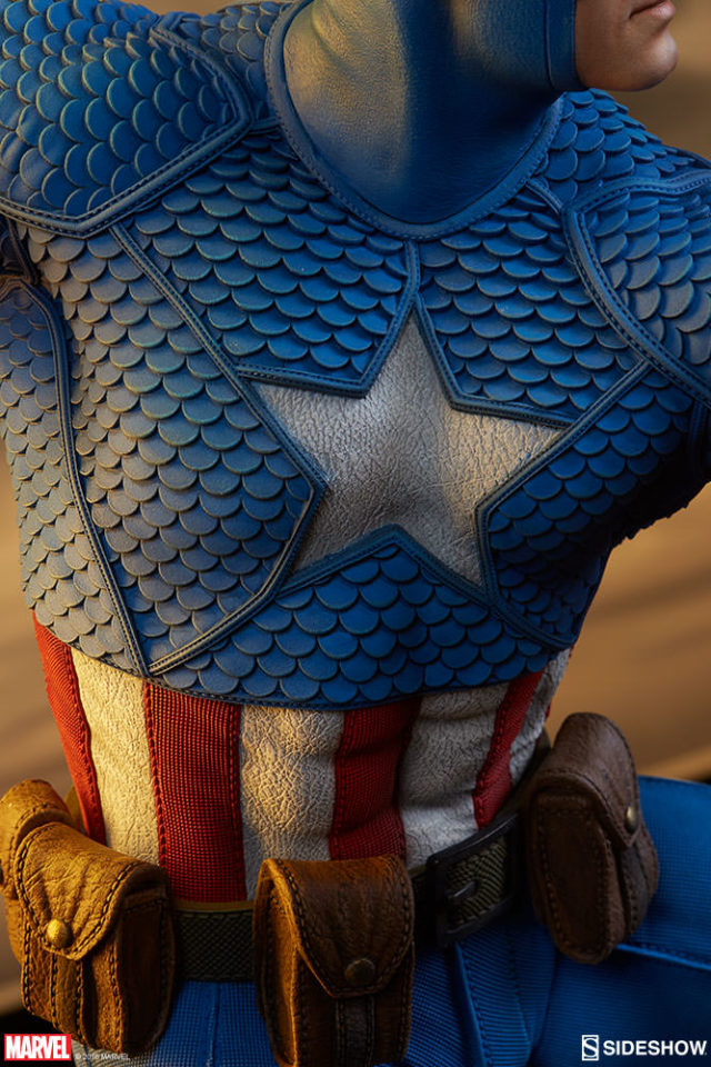 close-up-of-sideshow-avengers-assemble-captain-america-chest-logo
