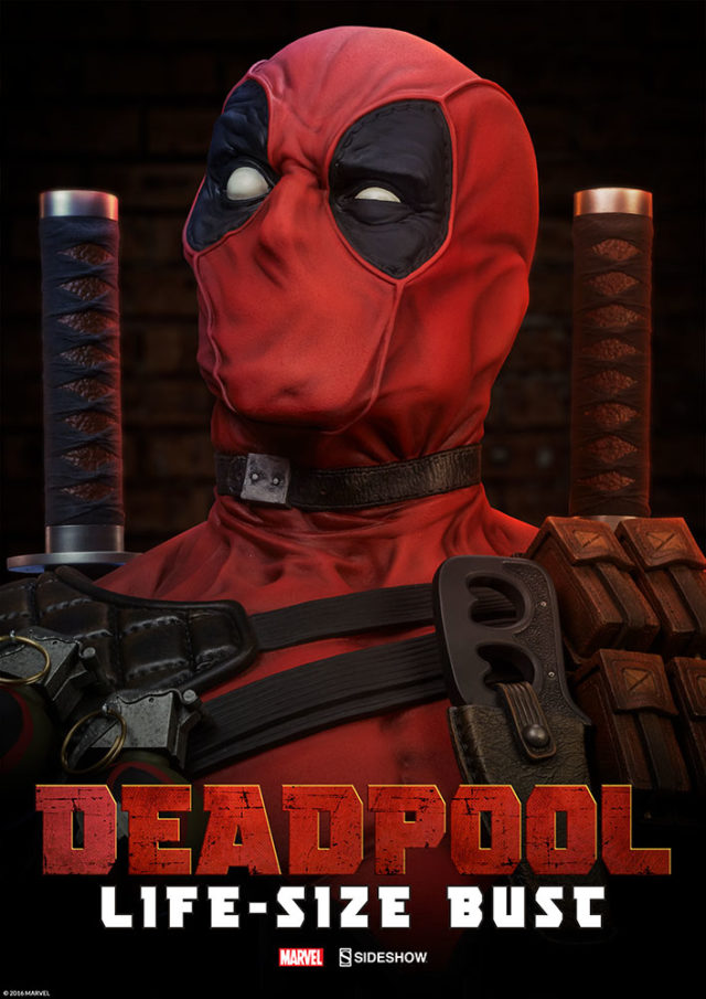 deadpool-bust-life-sized-announced-sideshow-collectibles