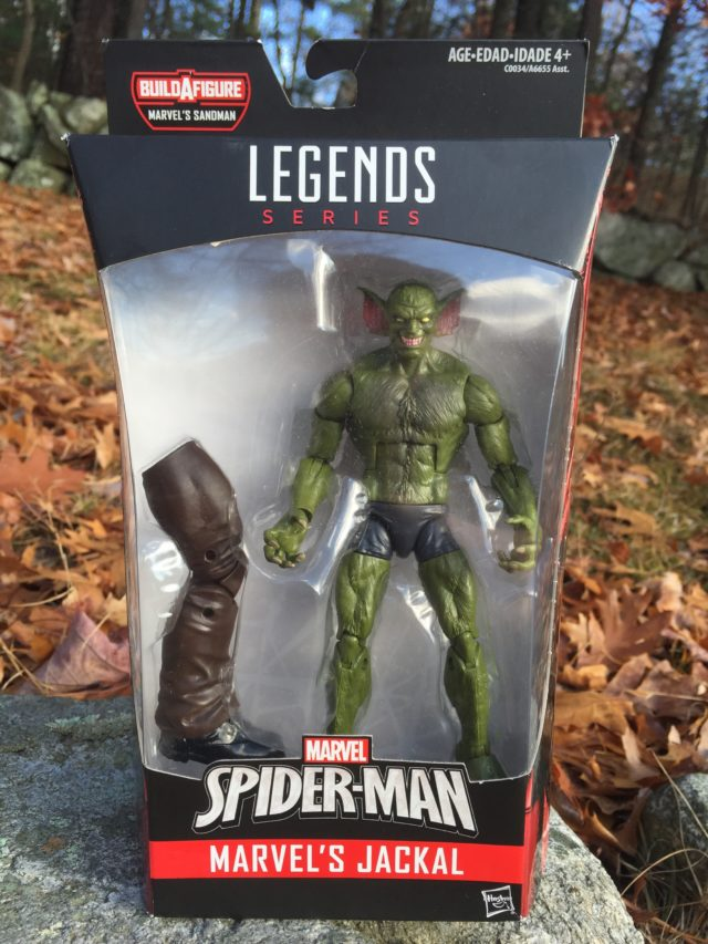 Marvel Legends 2017 Jackal Packaged
