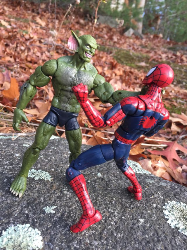 2017 Marvel Legends The Jackal vs. Spider-Man