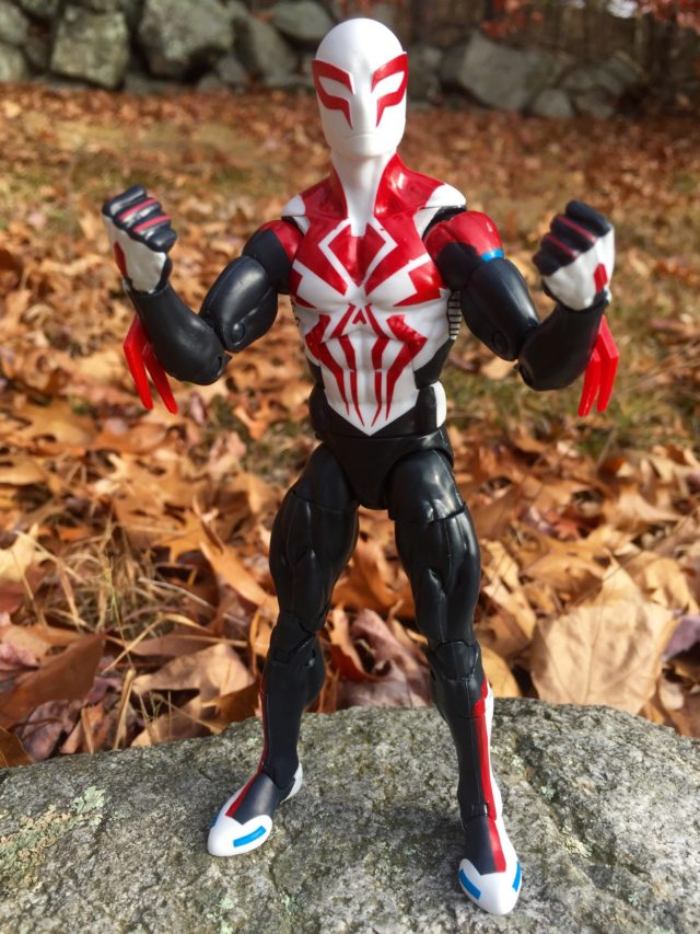 Hasbro Marvel Legends Spider-Man 2099 White Red Costume Review
